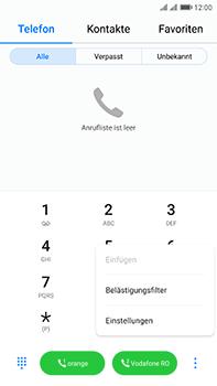 Huawei Mate 9 Pro - Anrufe - Rufumleitungen setzen und löschen - Schritt 4