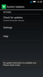 Alcatel One Touch Idol Mini - Software - Installing software updates - Step 8