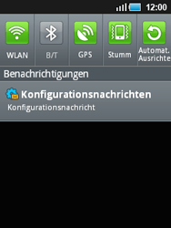 Samsung Galaxy Mini - MMS - Automatische Konfiguration - 5 / 11