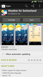 HTC One X Plus - Applications - Installing applications - Step 16
