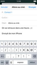 Apple iPhone SE - iOS 10 - E-mail - Envoi d