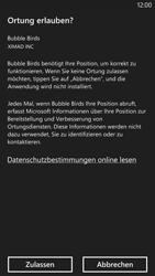 Nokia Lumia 1320 - Apps - Einrichten des App Stores - Schritt 9