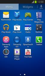Samsung Galaxy Trend Lite - Apps - Einrichten des App Stores - Schritt 3