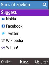 Nokia 225 (Type RM-1012) - Internet - Hoe te internetten - Stap 4