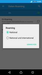 Sony Xperia Z3+ - Ausland - Im Ausland surfen – Datenroaming - 10 / 14