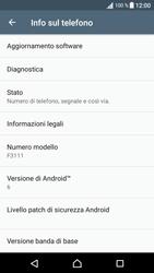 Sony Xperia XA - Software - Installazione degli aggiornamenti software - Fase 6