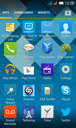 Alcatel One Touch Pop C3 - Applications - Setting up the application store - Step 3