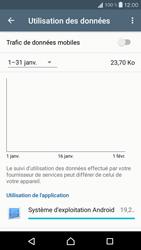 Sony Xperia X Compact - Internet et roaming de données - Comment vérifier que la connexion des données est activée - Étape 5