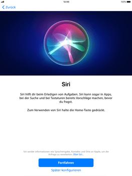 Apple iPad Air - iOS 11 - Persönliche Einstellungen von einem alten iPhone übertragen - 20 / 27