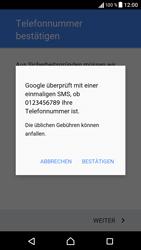 Sony Xperia XA - Apps - Einrichten des App Stores - Schritt 9