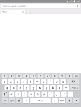 Samsung Galaxy Tab A 9.7 - Internet - Navigation sur Internet - Étape 4