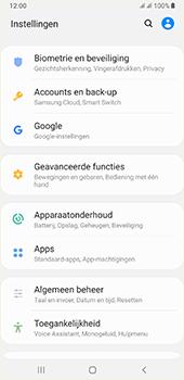 Samsung galaxy-a7-dual-sim-sm-a750fn-android-pie - Beveiliging en ouderlijk toezicht - Hoe wijzig ik mijn SIM PIN-code - Stap 4