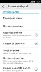 Huawei Ascend Y550 - Messagerie vocale - Configuration manuelle - Étape 4