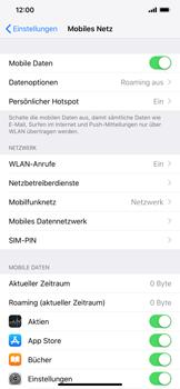Apple iPhone XS Max - Internet - Mobile Daten ausschalten - 3 / 4