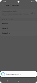Samsung Galaxy S20 Ultra 5G - Network - Manual network selection - Step 13