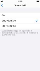 Apple iPhone SE - iOS 13 - Rete - Come attivare la connessione di rete 4G - Fase 7
