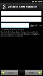 Sony Xperia S - Apps - Konto anlegen und einrichten - 8 / 21