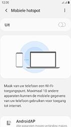 Samsung galaxy-xcover-4s-dual-sim-sm-g398fn - WiFi - Mobiele hotspot instellen - Stap 7
