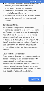 Samsung Galaxy S8 - Android Oreo - Applications - Configuration de votre store d