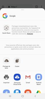 Samsung Galaxy S20 5G - Internet et roaming de données - Navigation sur Internet - Étape 23