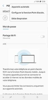 Samsung Galaxy Note 9 - Internet et connexion - Partager votre connexion en Wi-Fi - Étape 9