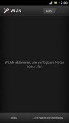 Sony Xperia J - WLAN - Manuelle Konfiguration - Schritt 5