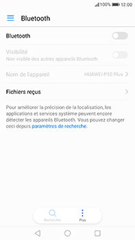 Huawei P10 Plus - Bluetooth - Jumelage d