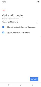 Samsung Galaxy Note 10 Plus 5G - E-mail - configuration manuelle - Étape 20