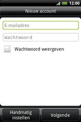 HTC A6363 Legend - e-mail - handmatig instellen - stap 5