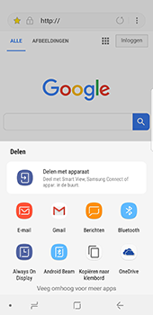 Samsung Galaxy S8 - Android Oreo - Internet - internetten - Stap 19