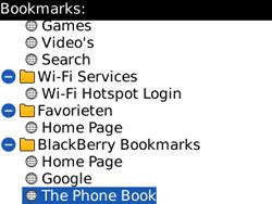 BlackBerry 8520 Curve - Internet - Internet browsing - Step 10