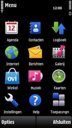 Nokia X6-00 - MMS - afbeeldingen verzenden - Stap 2