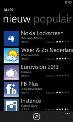 Nokia Lumia 520 - Applicaties - Download apps - Stap 8