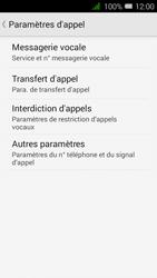 Alcatel OT-4027X Pixi 3 (4.5) - Messagerie vocale - configuration manuelle - Étape 7