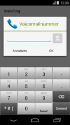 Acer Liquid E600 - Voicemail - handmatig instellen - Stap 9