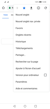 Huawei P Smart (2019) - Internet - navigation sur Internet - Étape 19