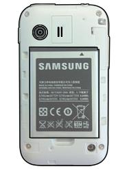 Samsung S5360 Galaxy Y - SIM-Karte - Einlegen - Schritt 5