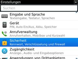 BlackBerry Bold Touch - Fehlerbehebung - Handy zurücksetzen - 6 / 13