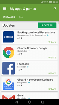 Huawei Mate 9 - Applications - How to check for app-updates - Step 5