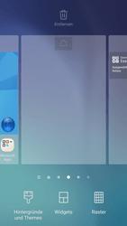 Samsung Galaxy S6 - Android Nougat - Startanleitung - Installieren von Widgets und Apps auf der Startseite - Schritt 4