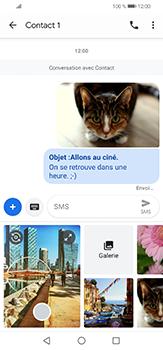 Huawei P30 lite - Contact, Appels, SMS/MMS - Envoyer un MMS - Étape 18