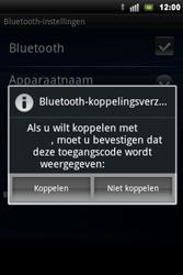 Sony Ericsson Xperia Mini Pro - Bluetooth - headset, carkit verbinding - Stap 8
