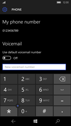 Microsoft Lumia 950 - Voicemail - Manual configuration - Step 8