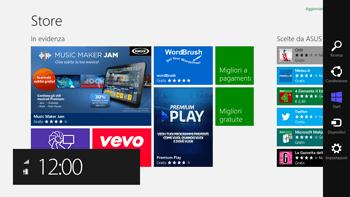 Asus VivoTab Smart LTE - Applicazioni - Configurazione del negozio applicazioni - Fase 6