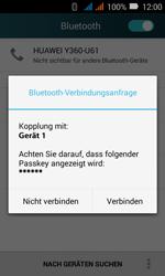 Huawei Y3 - Bluetooth - Geräte koppeln - Schritt 8