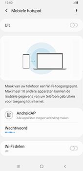 Samsung Galaxy S9 Plus - Android Pie - Internet - mijn data verbinding delen - Stap 12