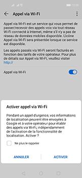 Huawei Nova 5T - WiFi - Activez WiFi Calling - Étape 8