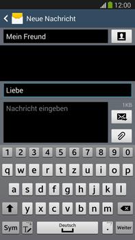 Samsung N9005 Galaxy Note 3 LTE - MMS - Erstellen und senden - Schritt 14