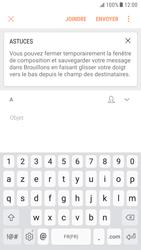 Samsung Galaxy S6 - Android Nougat - E-mail - envoyer un e-mail - Étape 4