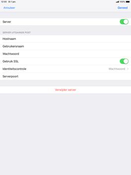 Apple ipad-mini-5-7-9-inch-2019-model-a2124 - E-mail - Account instellen (POP3 met SMTP-verificatie) - Stap 18
